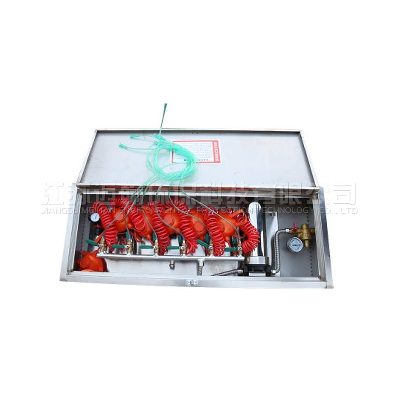 矿用压风供水自救一体装置